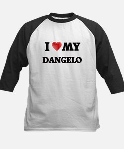 I love my Dangelo Baseball Jersey