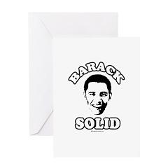 Barack solid Greeting Card