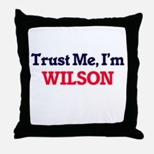 Trust Me, I'm Wilson Throw Pillow