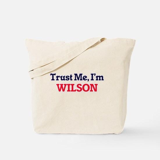 Trust Me, I'm Wilson Tote Bag