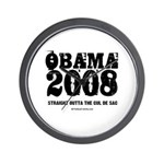 Barack Obama Wall Clock