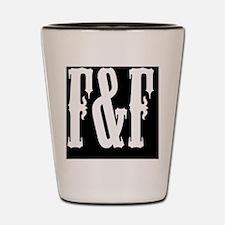 Funny Ff logo Shot Glass