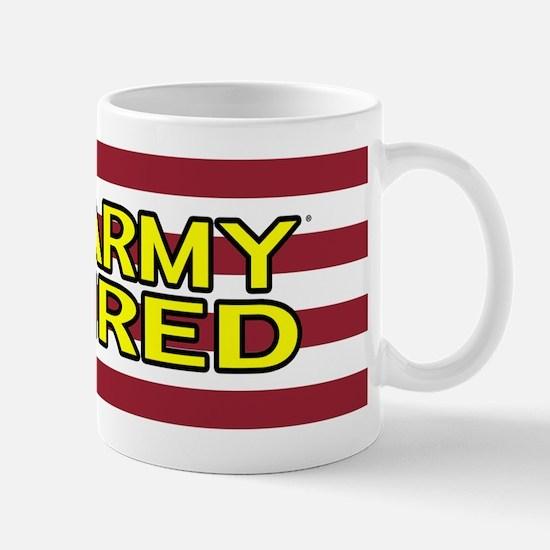 U.S. Army: Retired (American Flag) Mugs