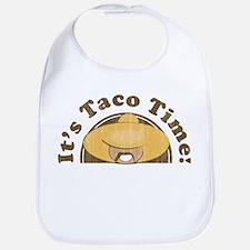It's Taco Time! Bib