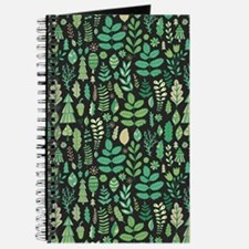 Forest Pattern Journal
