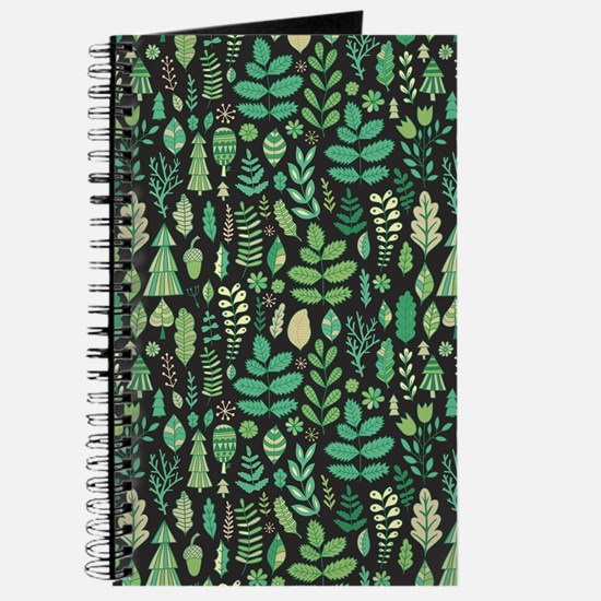 Forest Pattern Journal