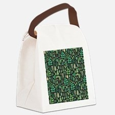 Forest Pattern Canvas Lunch Bag