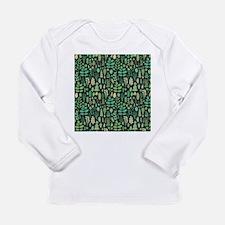 Forest Pattern Long Sleeve T-Shirt