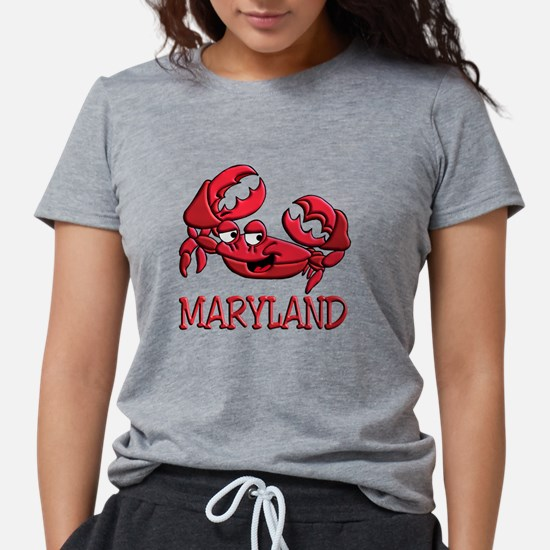 Maryland Crab Ash Grey T-Shirt