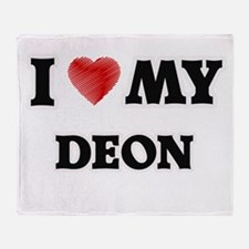 I love my Deon Throw Blanket