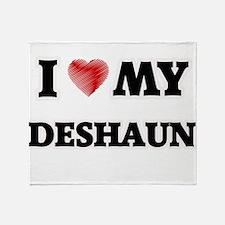 I love my Deshaun Throw Blanket