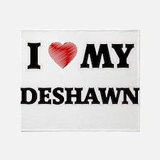 I love my Deshawn Throw Blanket