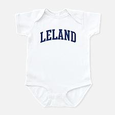 LELAND design (blue) Infant Bodysuit