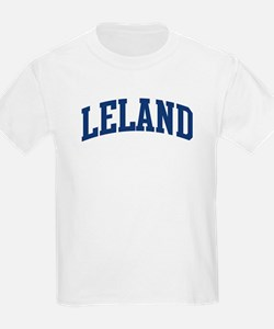 LELAND design (blue) T-Shirt
