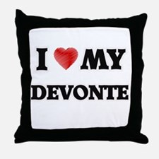 I love my Devonte Throw Pillow