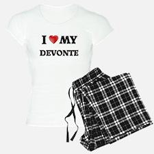 I love my Devonte Pajamas