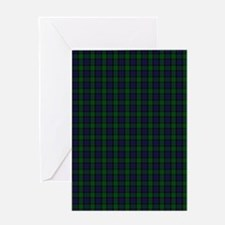 Blackwatch Tartan Greeting Cards