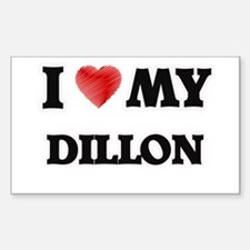 I love my Dillon Decal