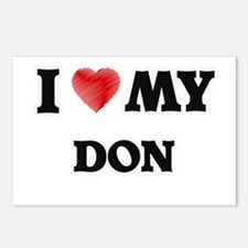 I love my Don Postcards (Package of 8)