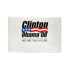 Clinton/Obama '08: We are the future Rectangle Mag
