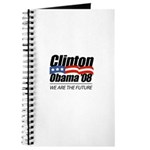 Clinton/Obama '08: We are the future Journal
