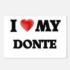 I love my Donte Postcards (Package of 8)