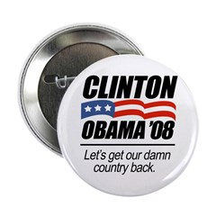 Clinton/Obama '08: Let's get our country back 2.25