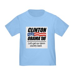 Clinton/Obama '08: Let's get our country back Infa