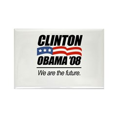 Clinton/Obama '08: We are the future Rectangle Mag