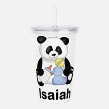 Isaiah's Little Panda Acrylic Double-wall Tumbler