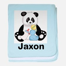Jaxon's Little Panda baby blanket