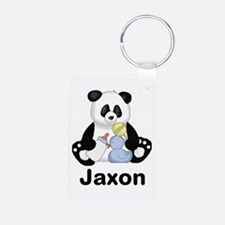 Jaxon's Little Panda Aluminum Photo Keychain