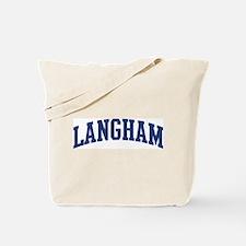 LANGHAM design (blue) Tote Bag