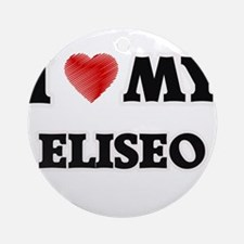 I love my Eliseo Round Ornament
