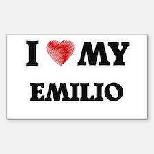 I love my Emilio Decal