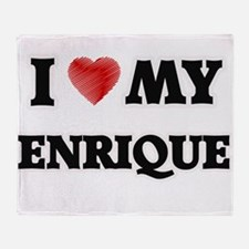 I love my Enrique Throw Blanket