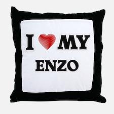 I love my Enzo Throw Pillow