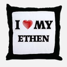 I love my Ethen Throw Pillow