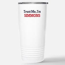 Trust Me, I'm Simmons Stainless Steel Travel Mug