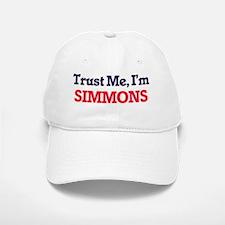 Trust Me, I'm Simmons Baseball Baseball Cap