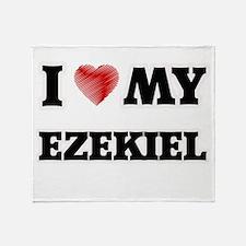 I love my Ezekiel Throw Blanket