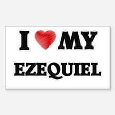 I love my Ezequiel Decal