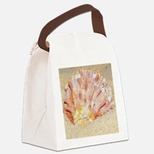 Cute Christmastime Canvas Lunch Bag