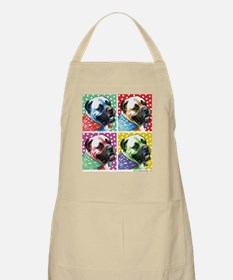Four Faces Bullmastiff BBQ Apron