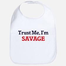 Trust Me, I'm Savage Bib