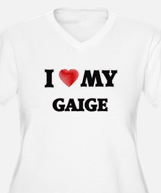 I love my Gaige Plus Size T-Shirt