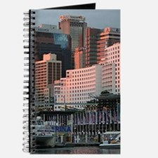 Darling Harbour, Sydney, sunset Journal