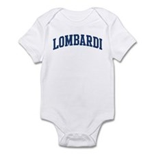 LOMBARDI design (blue) Infant Bodysuit