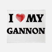 I love my Gannon Throw Blanket