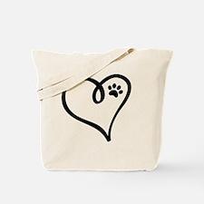 Rainbow bridge white cat Tote Bag